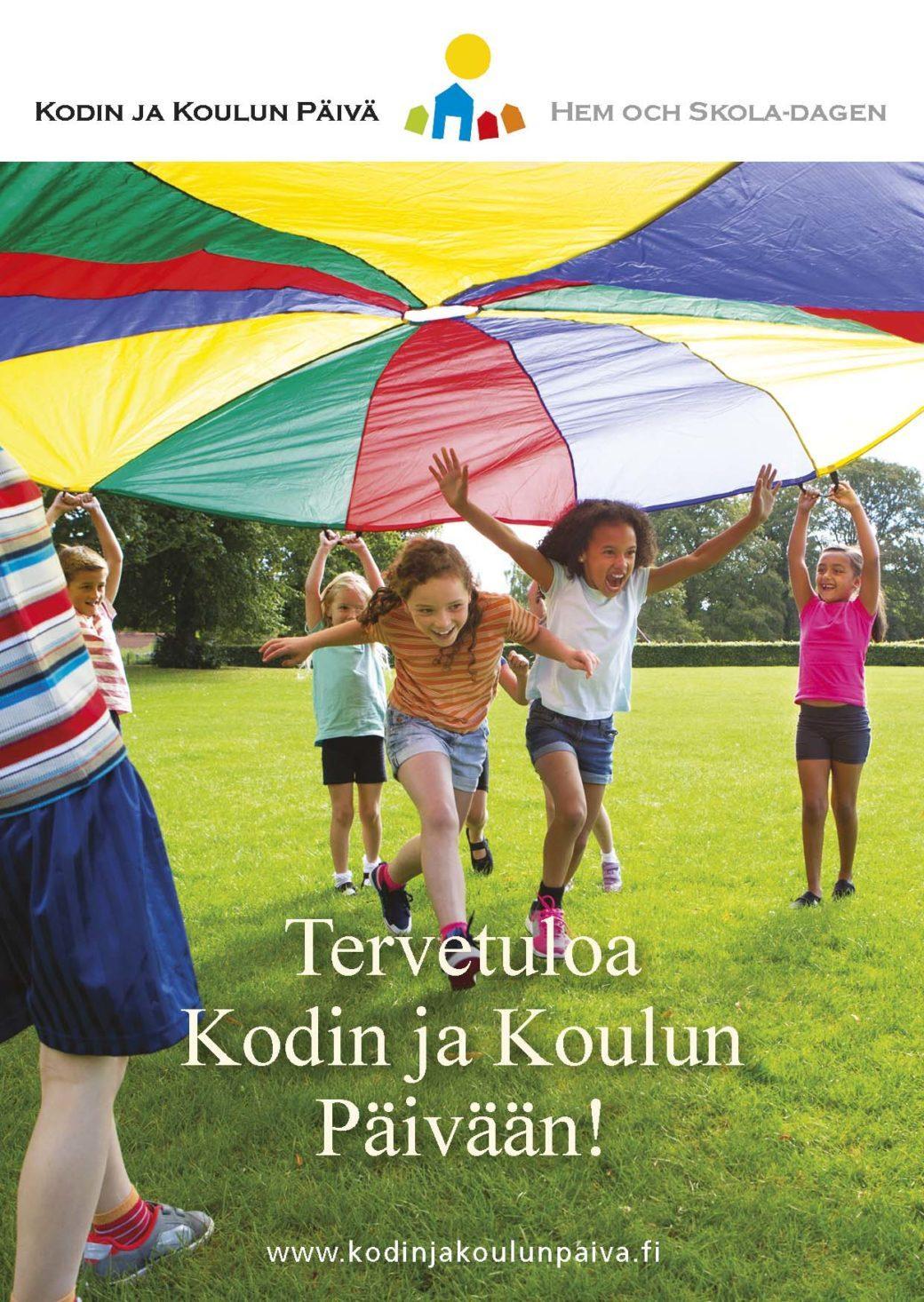 Kortti: Tervetuloa Kodin ja Koulun Päivään! www.kodinjakoulunpaiva.fi